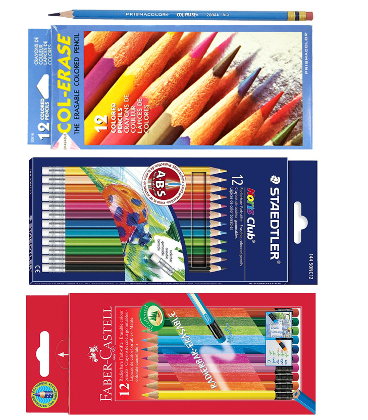 Erasable Color Pencils